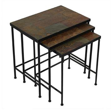 Slate 3-pc. Nesting Table Set