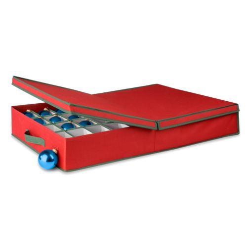 Honey-Can-Do Adjustable Ornament Storage Box