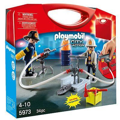 Playmobil City Action Fireman Playset - 5973