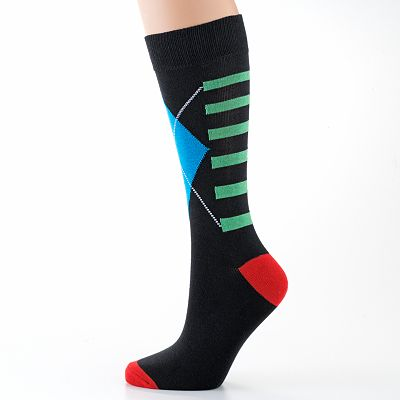 equipo Exploded Argyle Socks