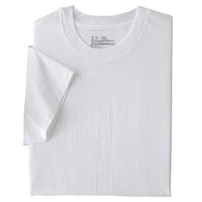 Hanes Classics 2-pk. Crew Tees - Big and Tall