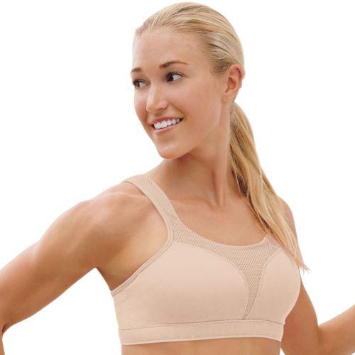 Champion Bra: Spot Comfort Double Dry High-Impact Sports Bra 1602 - Women's