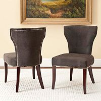 Safavieh 2 pc Wyatt Dining Chair Set
