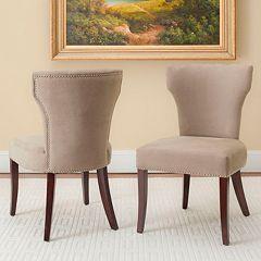 Safavieh 2-pc. Wyatt Dining Chair Set
