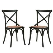 Safavieh 2 pc Benjamin Side Chair Set