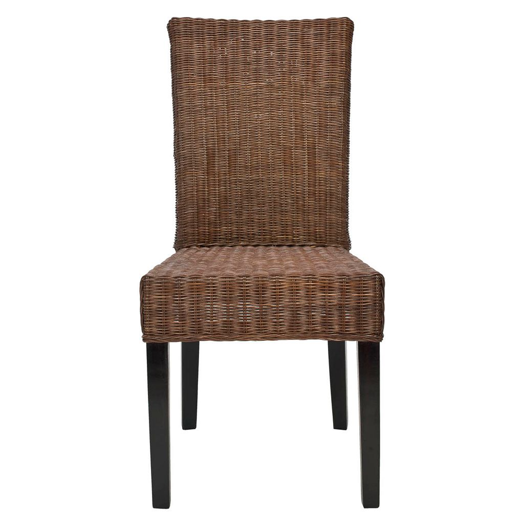 Safavieh 2-pc. James Wicker Side Chair Set
