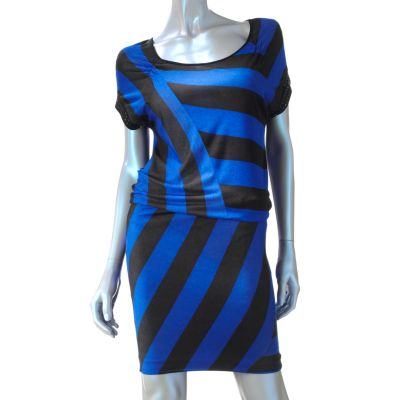 Rock and Republic Striped Embellished Dress