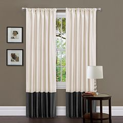 Lush Decor 2-pack Milione Fiori Window Curtains - 42' x 84'
