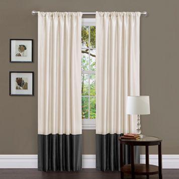 Lush Decor 2-pack Milione Fiori Window Curtains - 42