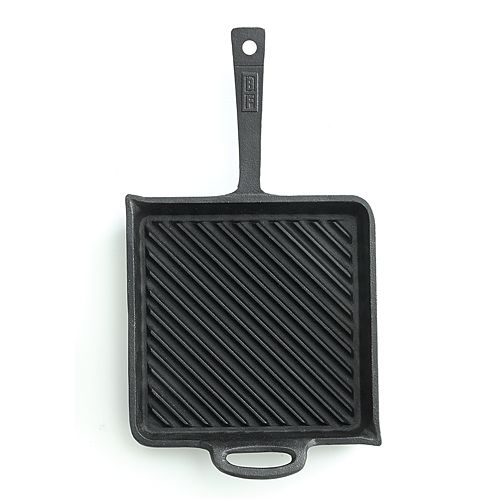 Bobby Flay™ 10.5-in. Pre-Seasoned Cast-Iron Nonstick Griddle
