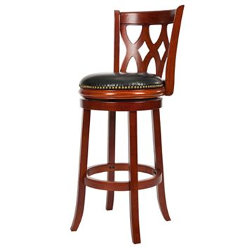 Safavieh Asher Swivel Bar Stool