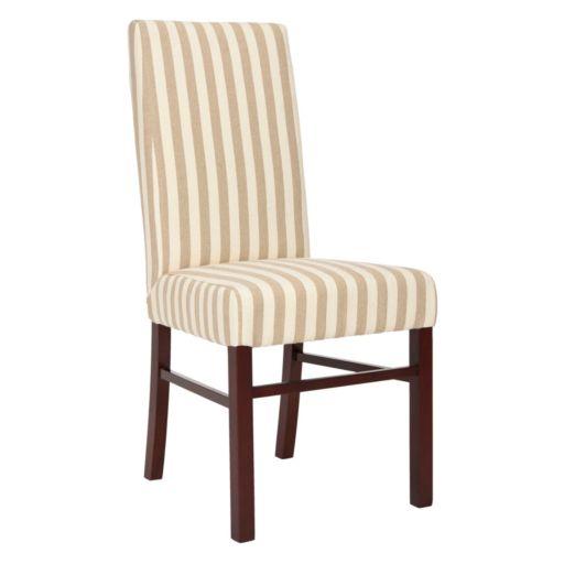 Safavieh 2-pc. Madeline Striped Side Chair Set