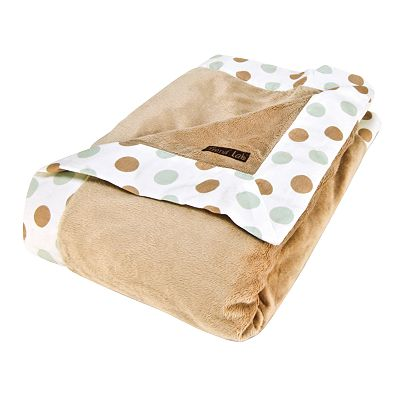Trend Lab Classic Spa Dot Receiving Blanket