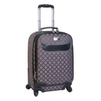 Jennifer Lopez Luggage,Noir 20-in. Jacquard Expandable Spinner Carry-On