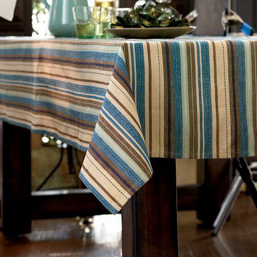 Bobby Flay™ Sea Serape Tablecloth - 60'' x 84'' Oblong