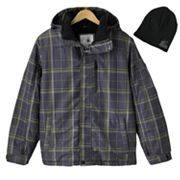 ZeroXposur Revel Snowboard Jacket and Beanie Set - Men