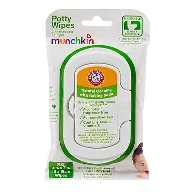 Arm and Hammer 36-pk. Potty Wipes by Munchkin