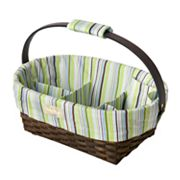 Sara Bear Baby Striped Diaper Caddy by Munchkin