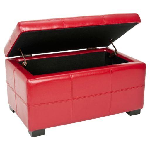 Safavieh Vivienne Small Tufted Storage Bench