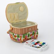 Lil' Sew and Sew Sewing Basket With Sewing Kit