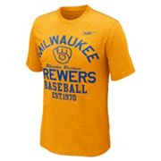 Nike Milwaukee Brewers Cooperstown Vintage Tee