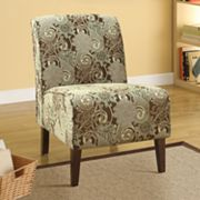 Linon Caryn Floral Accent Chair