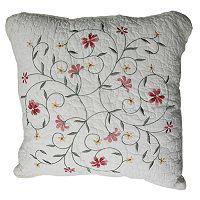 Amber Square Decorative Pillow