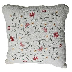Amber Square Decorative Pillow