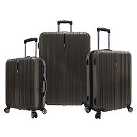 Traveler's Choice Tasmania 3-Piece Luggage Set