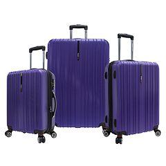 Traveler's Choice Tasmania 3 pc Luggage Set
