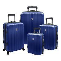 Traveler's Choice New Luxembourg 4-Piece Hardcase Luggage Set