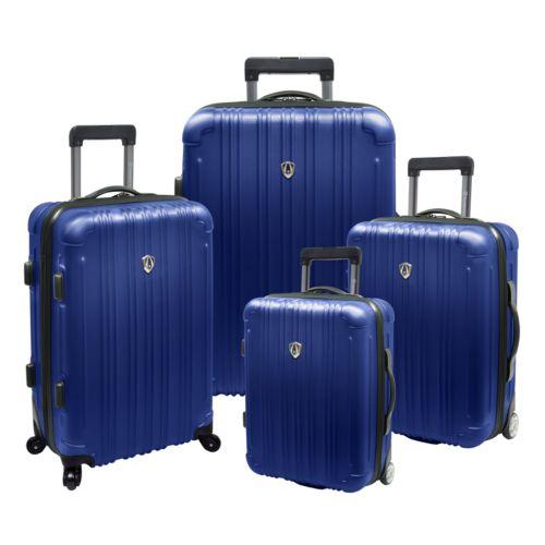Traveler's Choice Luggage, New Luxembourg 4-pc. Hardcase Expandable Luggage Set