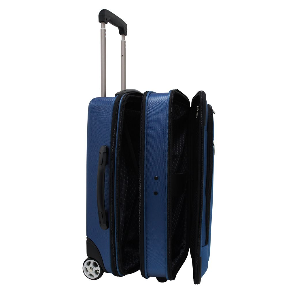 Traveler's Choice Siena 21-Inch Hybrid Wheeled Carry-On & Garment bag