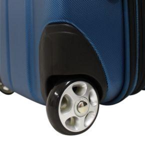 Traveler's Choice Siena 21-Inch Hybrid Wheeled Carry-On & Garment bag
