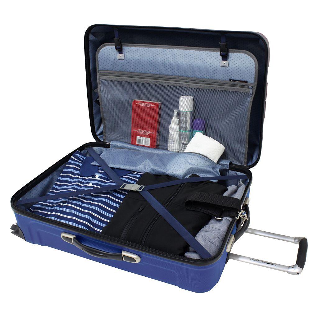 Traveler's Choice 3-Piece Cambridge Hardcase Luggage Set