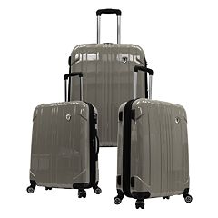 Traveler's Choice 3 pc Sedona Hardcase Luggage Set