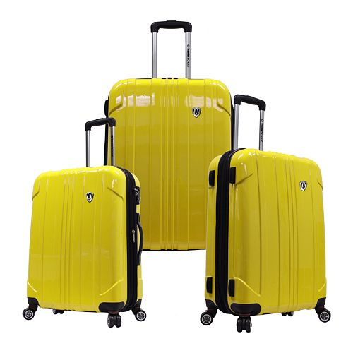 Traveler's Choice 3-Piece Sedona Hardcase Luggage Set