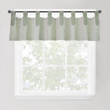Park B. Smith Ticking-Stripe Window Valance