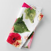 Food Network Floral Napkin