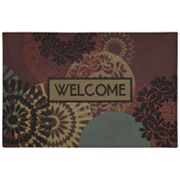 Mohawk Home Lace Medallion Welcome Doormat