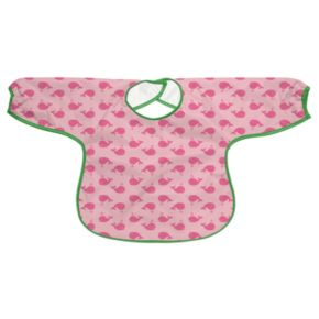 Green Sprouts by i play. Whale Waterproof Bib - Baby