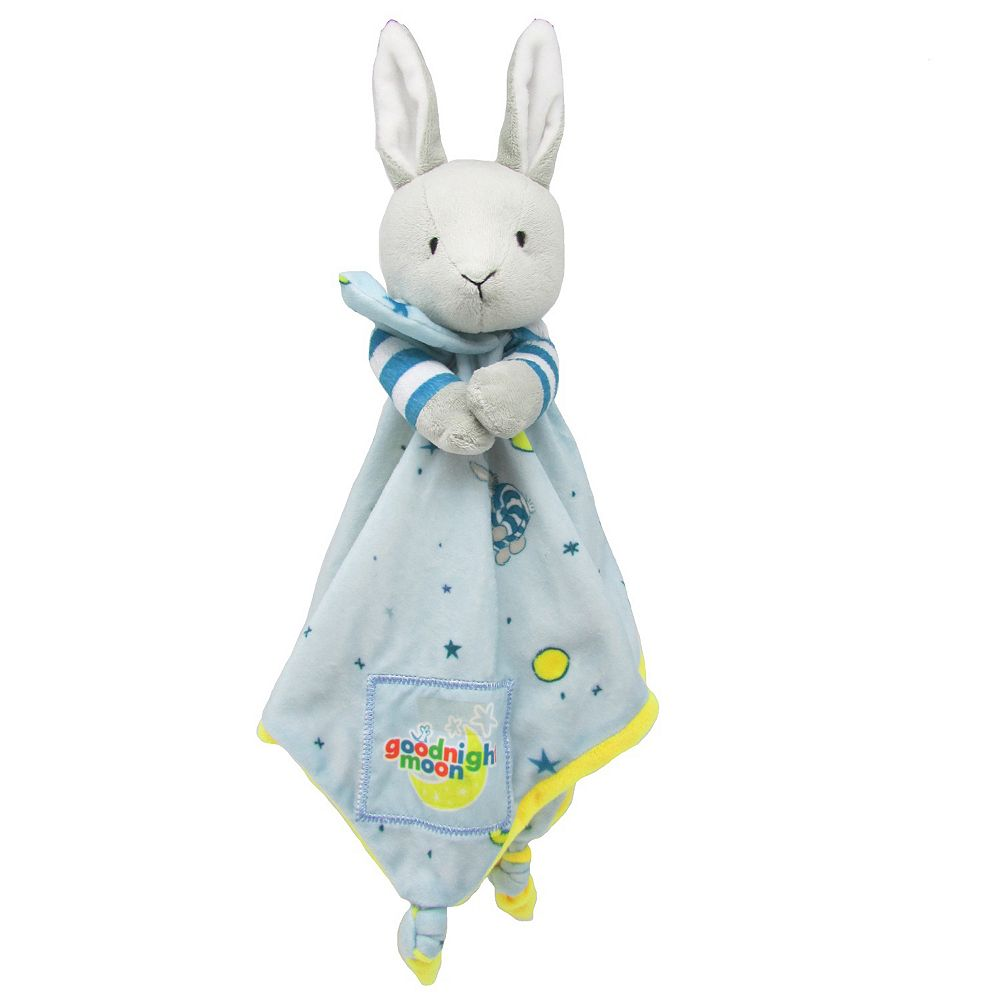 5ff7df4b7 Kids Preferred Goodnight Moon Plush Bunny Blanky