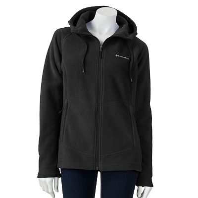Columbia Hooded Fleece Jacket