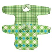 Green Sprouts by i play. 2-pk. Argyle and Plaid Waterproof Bibs - Toddler