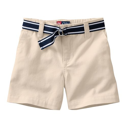 Chaps Belted Chino Shorts - Baby