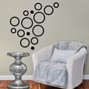 Fetco 15-pc. Shanna Circles Wall Decor Set
