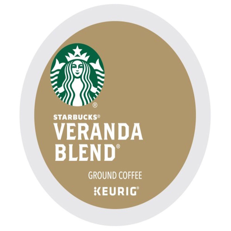 keurig kcup pod starbucks veranda blend blonde light roast coffee 16pk - Keurig K Cups