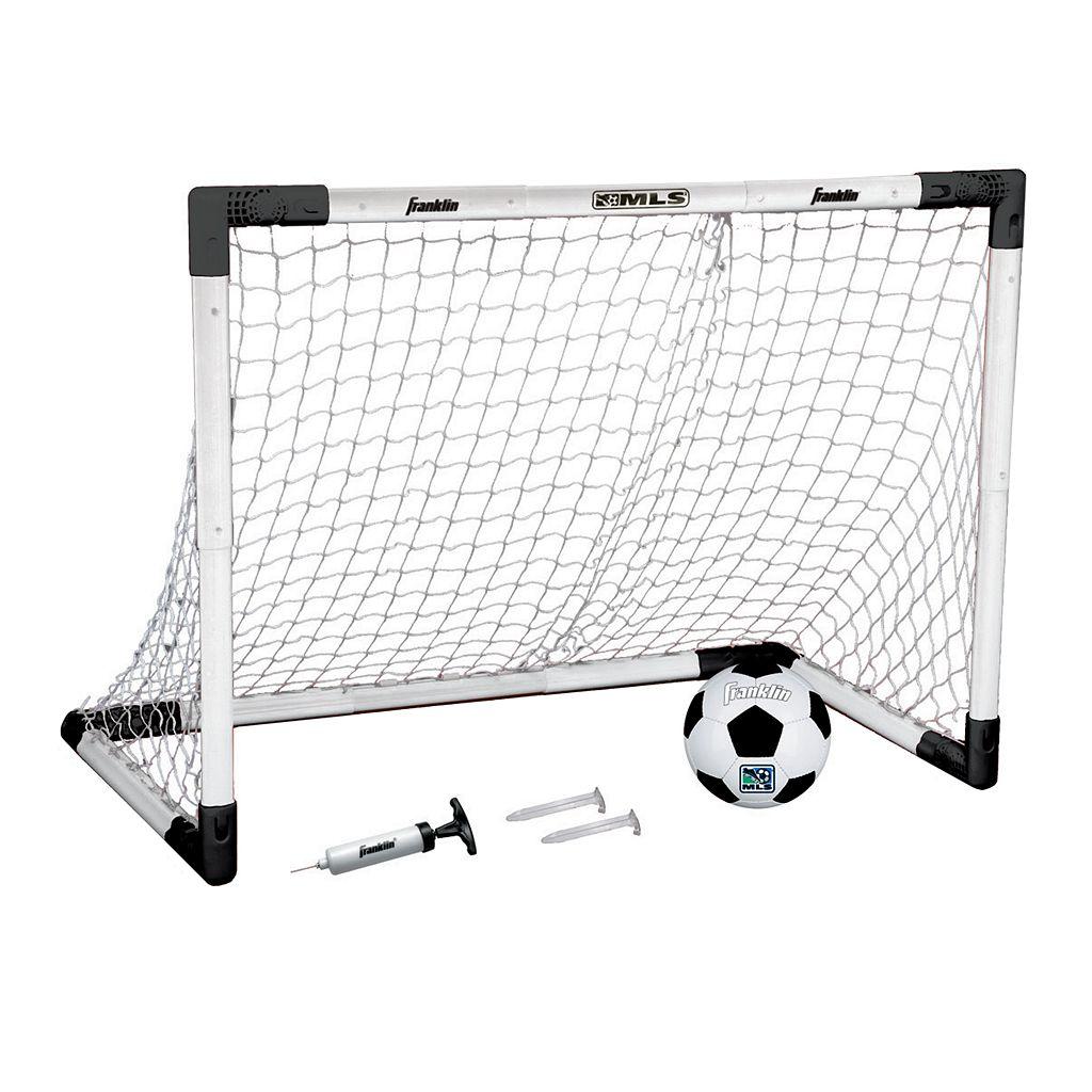 Franklin MLS Adjustable Insta-Set Soccer Goal Set