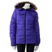 Columbia Hooded Down Puffer Jacket
