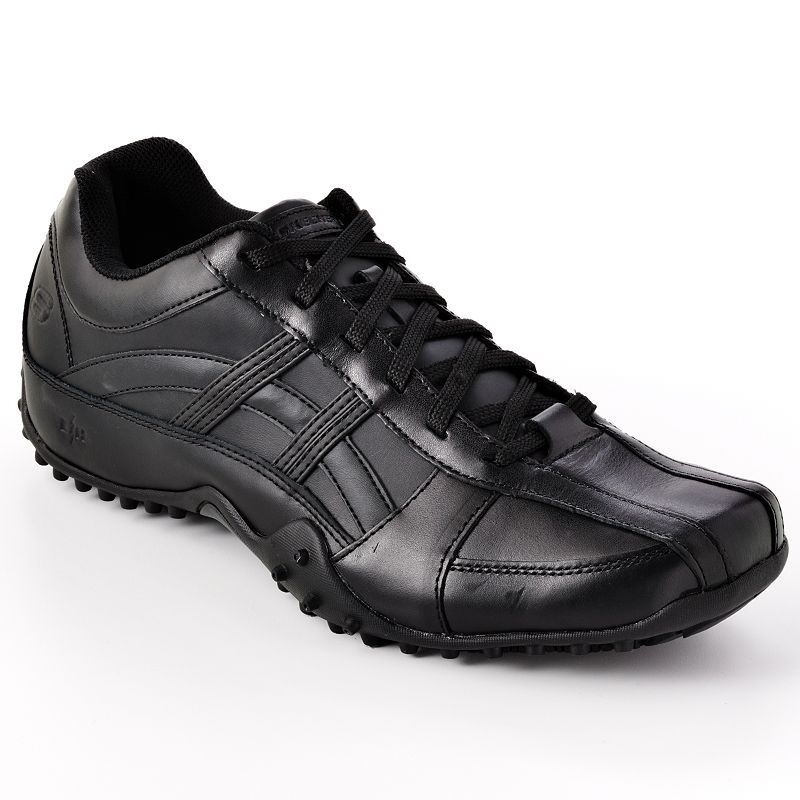 Skechers Black Rockland Systemic Work Shoes - Men